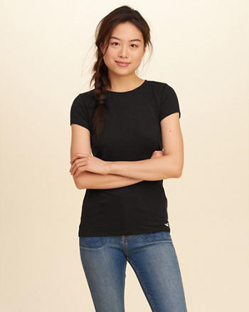 Must-Have Slim Crew T-Shirt