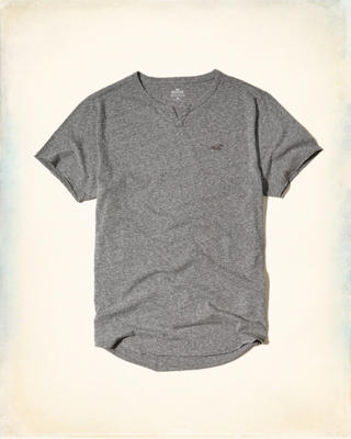 Must-Have Notch Neck T-Shirt