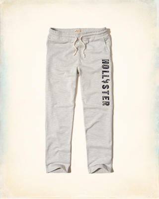 Hollister Straight-Leg Graphic Sweatpants