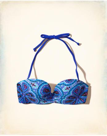 hol Push-Up Multi-Way Bikini Top