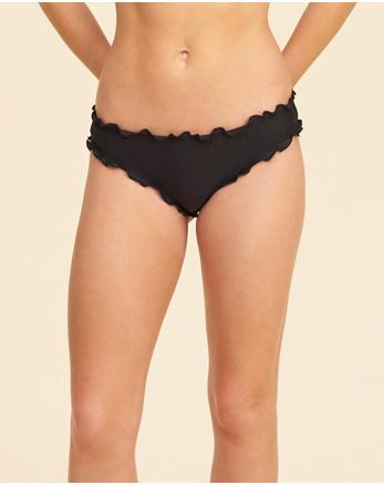 hol Ruffle Cheeky Bikini Bottom