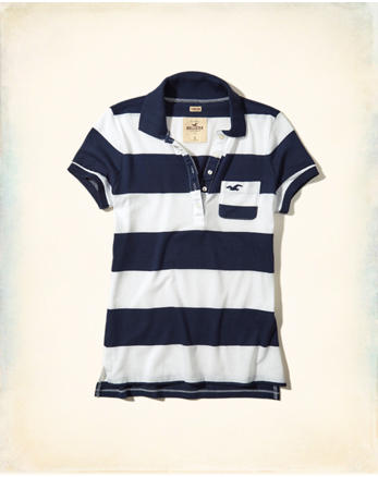 hol Slim Stretch Stripe Polo