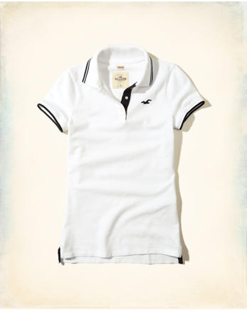 hol Stretch Tipped Icon Polo