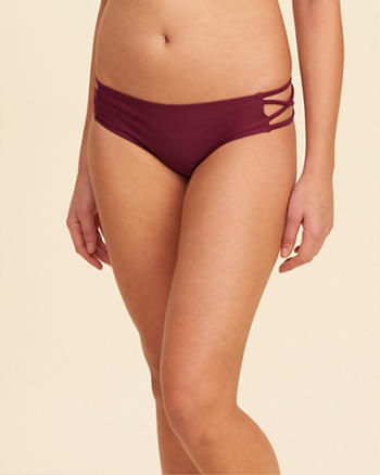 Strappy Side Cheeky Swim Bottom