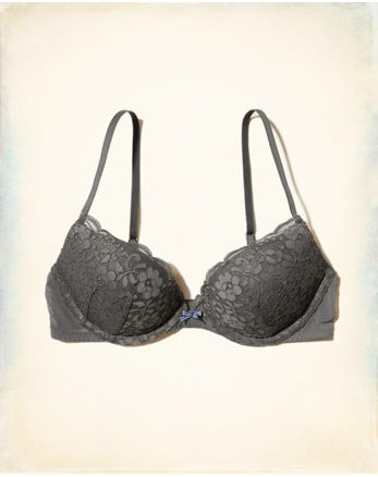 hol Push-Up Plunge Bra