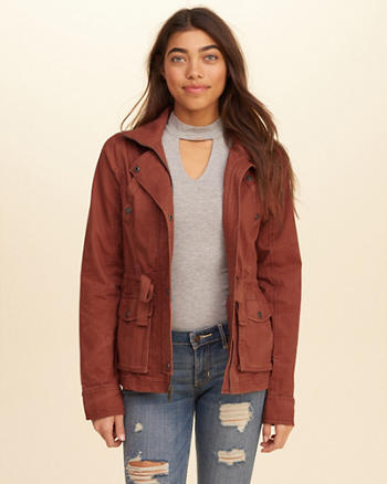 Girls Jackets &amp Outerwear | Hollister Co.