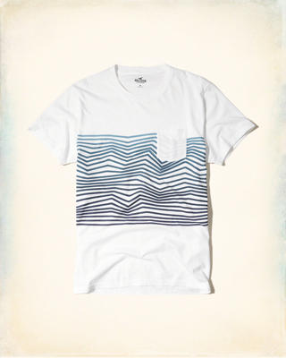 Patterned Graphic Tee