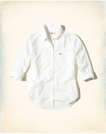 hol Button-Front Cotton Shirt
