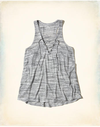 hol Must-Have Easy Lace-Up Tank