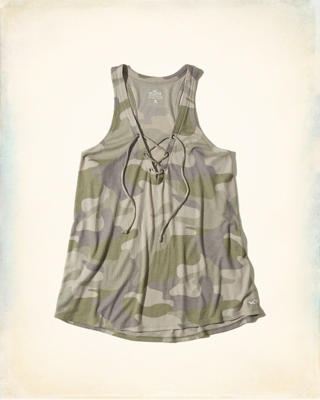 Must-Have Easy Lace-Up Tank
