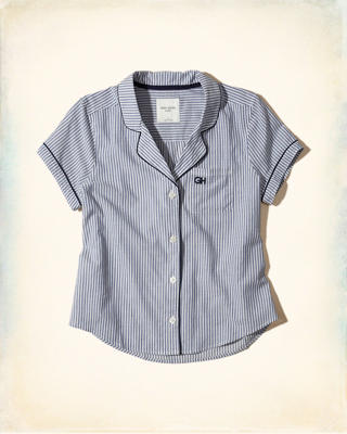 Poplin Sleep Shirt