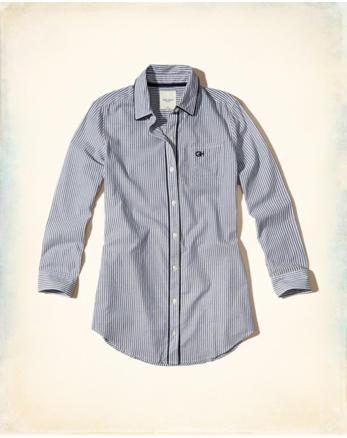 hol Button-Front Woven Sleep Dress