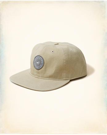 hol Snapback Flat Brim Hat