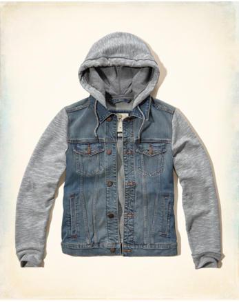 hol Hooded Denim Jacket