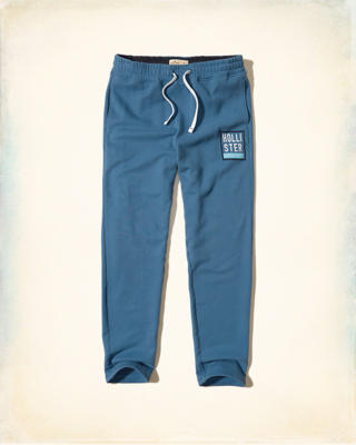 Hollister Logo Graphic Straight-Leg Sweatpants
