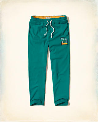 Logo Graphic Straight-Leg Sweatpants