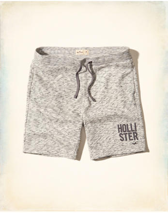 hol Logo Graphic Jogger Shorts