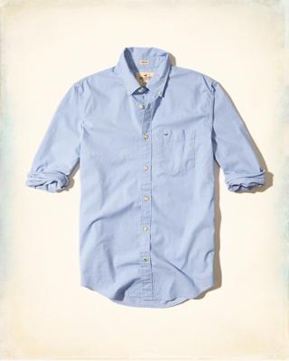 Hollister Hemd Weiß