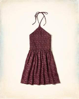 Smocked Halter Dress