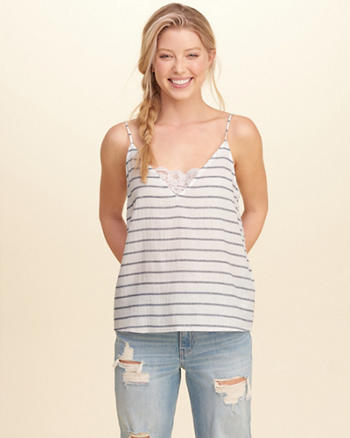 Must-Have Easy Lace Tank