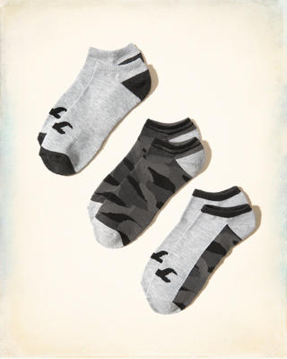 Camo Ankle Socks Multipack