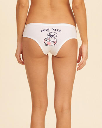 Graphic Cotton Cheeky
