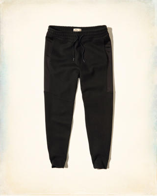 Neoprene Super Skinny Jogger Pants