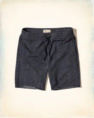 Textured Fleece Shorts