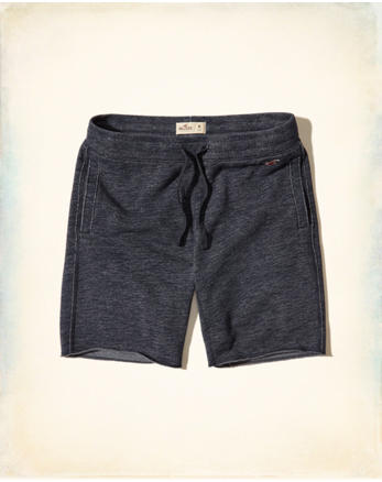 hol Textured Fleece Shorts