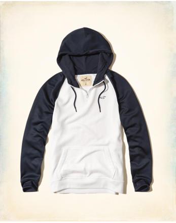 hol Colorblock Half-Zip Hoodie