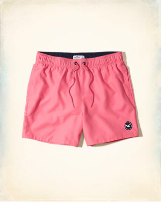 Hollister Guard Fit Swim Trunks