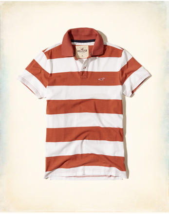 hol Stripe Jersey Icon Polo