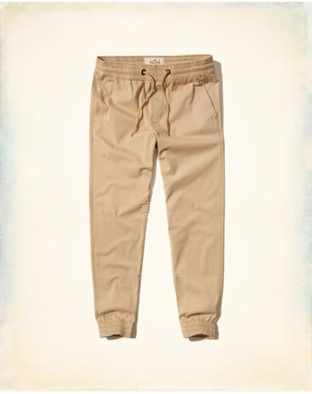 hol Twill Jogger Pants