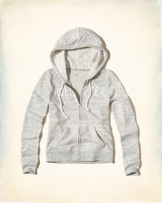 Lace Applique Logo Graphic Hoodie