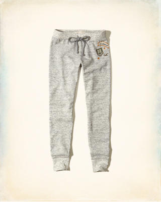 Hollister Patch Fleece Leggings