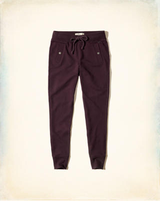 Snap Pocket Fleece Leggings