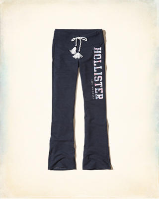 Hollister Logo Graphic Flare Sweatpants
