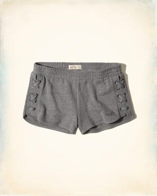 Lace-Up Icon Shorts