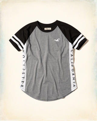 Colorblock Logo Graphic Tee