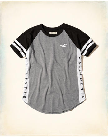 hol Colorblock Logo Graphic Tee