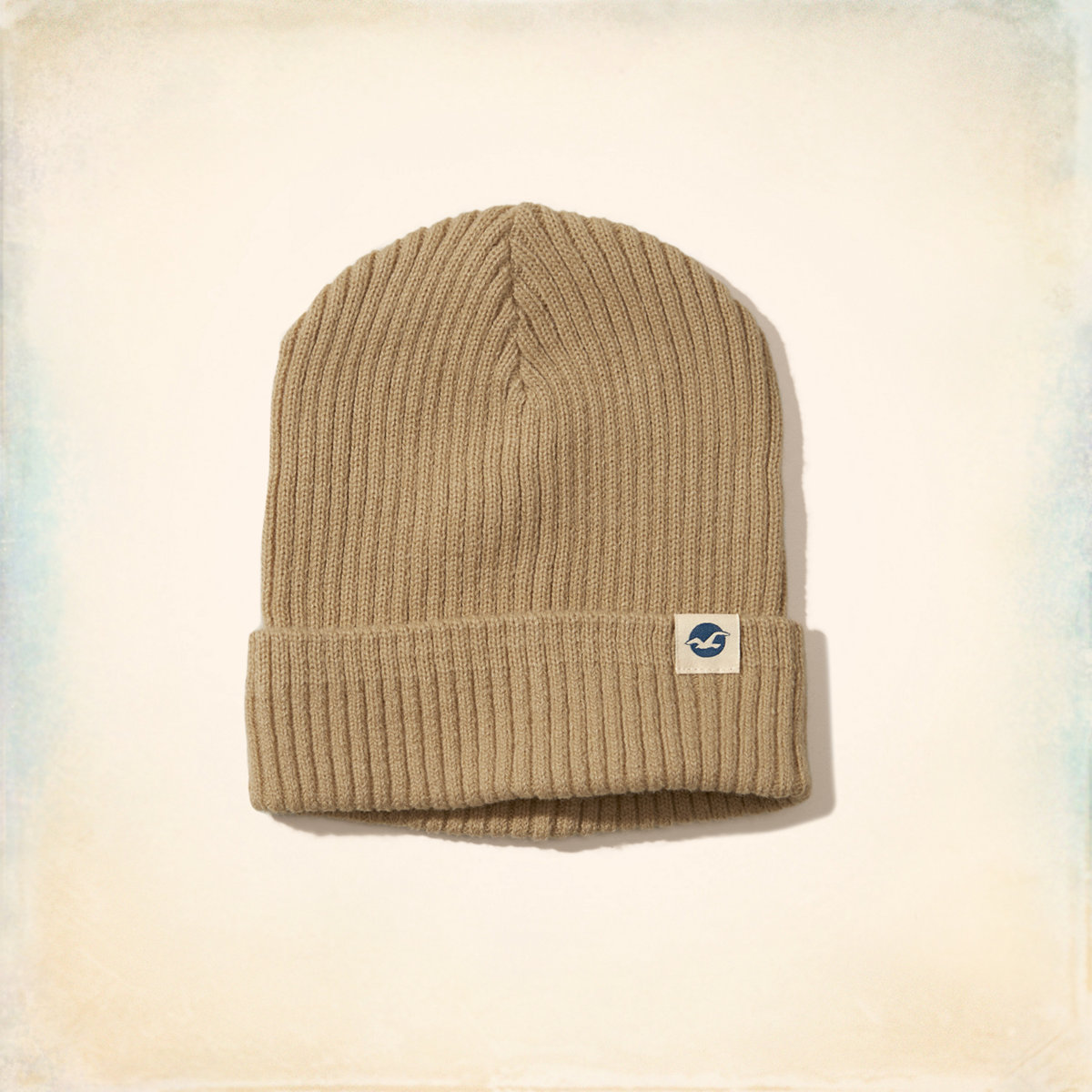 Ribbed Icon Beanie