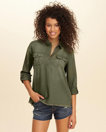 Military Popover Shirt