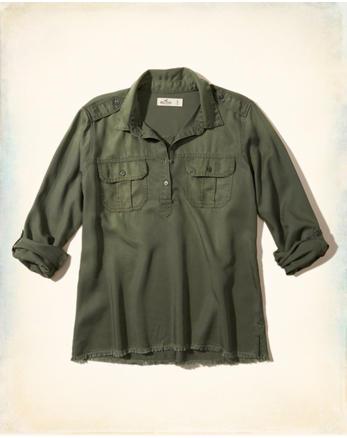 hol Military Popover Shirt