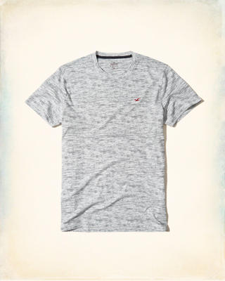 Must-Have Textured Crew T-Shirt