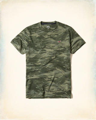 Must-Have Camo Crew T-Shirt