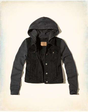 hol Hooded Denim Jacket