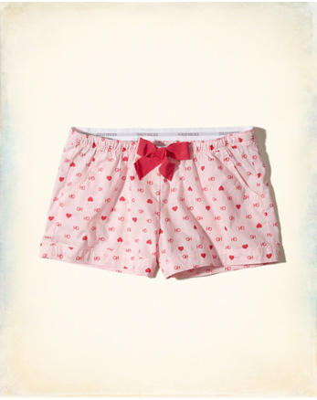 hol Woven Sleep Shorts