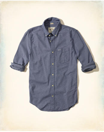 hol Stretch Check Oxford Shirt
