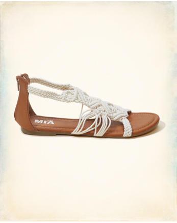 hol Mia Basketweave Sandal