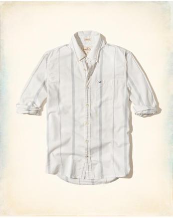 hol Stretch Stripe Oxford Shirt